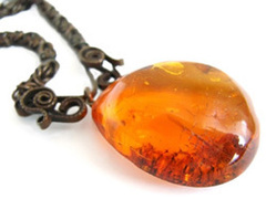 Ellie's Amber Necklace